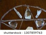 meditation grid kit. quartz... | Shutterstock . vector #1307859763