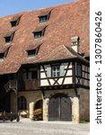 an old house in bamberg ... | Shutterstock . vector #1307860426