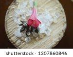healing crystals  clear quartz  ... | Shutterstock . vector #1307860846