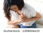 unwell condition and sickness... | Shutterstock . vector #1308006610