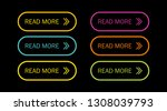 read more colorful button set... | Shutterstock .eps vector #1308039793