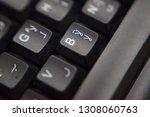 a closeup look of english... | Shutterstock . vector #1308060763
