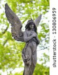 Sculpture Of Angel At A Old...