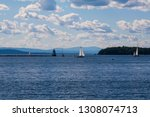 Sailboats On Lake Champlain ...