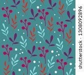 seamless vector pattern with...   Shutterstock .eps vector #1308092896