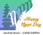 """nyepi is a balinese """"day of... 