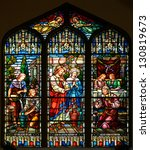Stained Glass Window Of St Pau...