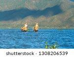 inle lake  myanmar  january... | Shutterstock . vector #1308206539