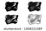 set of brush stroke and...   Shutterstock . vector #1308221389