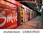bts mo chit sky train station... | Shutterstock . vector #1308319033