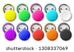 circle button badge. round... | Shutterstock .eps vector #1308337069