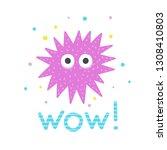 sea urchin vector illustration...   Shutterstock .eps vector #1308410803