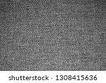 grey woolen fabric texture.gray ... | Shutterstock . vector #1308415636
