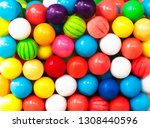 funny background with color... | Shutterstock . vector #1308440596