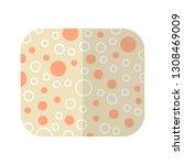 sponge for washing. subject of... | Shutterstock .eps vector #1308469009