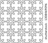 seamless geometric pattern.... | Shutterstock .eps vector #1308469096