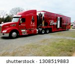 Budweiser Trailer Truck At...