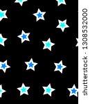 irregular pattern with many... | Shutterstock . vector #1308532000