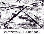 distressed background in black... | Shutterstock .eps vector #1308545050