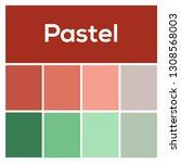 the palette of colors. pastel...