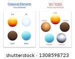 classical four elements and...   Shutterstock .eps vector #1308598723
