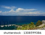 view from old fortress in... | Shutterstock . vector #1308599386