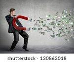 Businessman Attracts Money Wit...