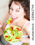 diet concept. healthy food.... | Shutterstock . vector #130862744