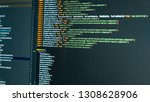 Small photo of Colorful Computer Code