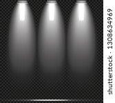 concert lighting  stage... | Shutterstock .eps vector #1308634969