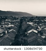 dali old town rooftop view at...   Shutterstock . vector #1308654730