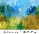 abstract texture background.... | Shutterstock . vector #1308657256