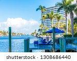 fort lauderdale  florida  ...   Shutterstock . vector #1308686440