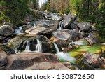 Waterfall In Tatra Mountain ...