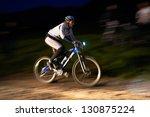 Small photo of ALMATY, KAZAKSTAN - MAY 26: I.Kazantceva (N27) in action at Freestyle Bike Session (NIGHT RACE) in Almaty, Kazakstan MAY 26, 2012.