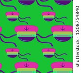 multicolor summer seamless... | Shutterstock .eps vector #1308754840