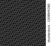 strokes pattern.linear ornament.... | Shutterstock .eps vector #1308849280