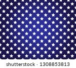 vector pattern with stars.  | Shutterstock .eps vector #1308853813