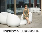 portrait of beautiful yound... | Shutterstock . vector #1308886846