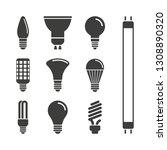 monochrome vector illustration... | Shutterstock .eps vector #1308890320