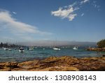 yachts in north harbour at... | Shutterstock . vector #1308908143