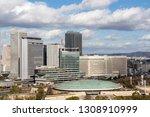 osaka   japan   february 1 ... | Shutterstock . vector #1308910999