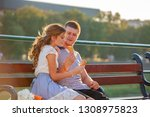 love and affection between a... | Shutterstock . vector #1308975823
