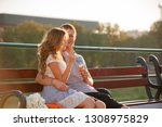 love and affection between a... | Shutterstock . vector #1308975829