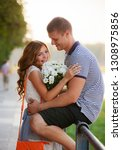 love and affection between a... | Shutterstock . vector #1308975856