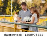 love and affection between a... | Shutterstock . vector #1308975886