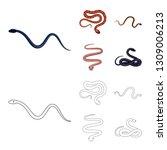 vector design of mammal and...   Shutterstock .eps vector #1309006213