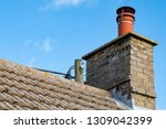large  english cottage style... | Shutterstock . vector #1309042399