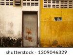 abstract scene of yellow cement ...   Shutterstock . vector #1309046329