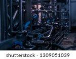 close up of a pressure gauge...   Shutterstock . vector #1309051039